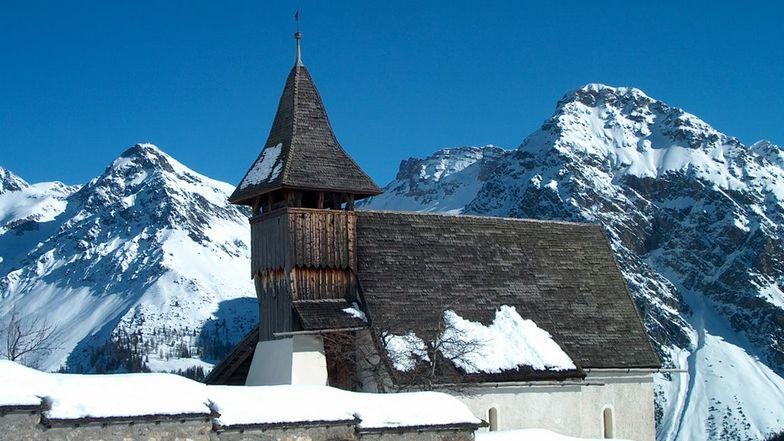 Das Bergkirchlein in Arosa.