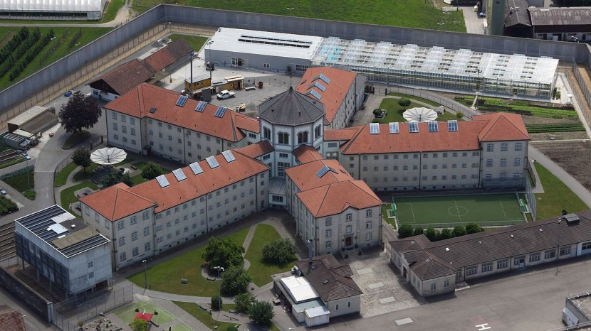 Die Strafanstalt Lenzburg im Kanton Aargau.
