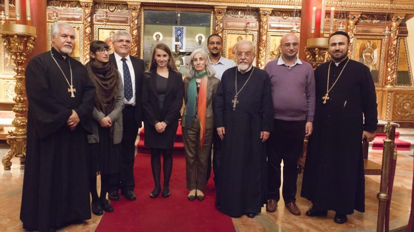 Der Vorstand des neuen orthodoxen Verbandes.