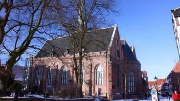 Die Johannes a Lasco-Bibliothek im deutschen Emden: Hier tagt jeweils die Synode der reformierten Kirche.
