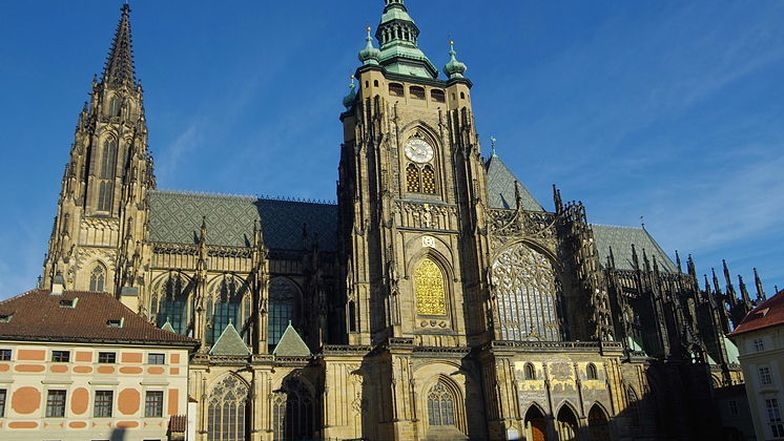 Der Veitsdom in Prag.