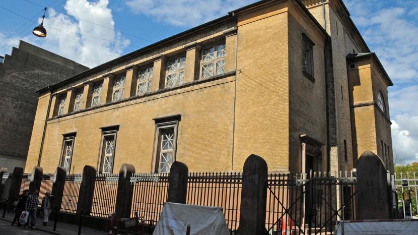 Die grosse Synagoge in Kopenhagen.