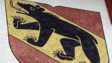 Erlach_-_Schloss_-_Berner_Wappen
