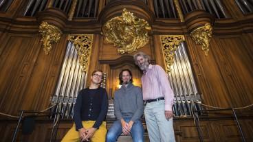 Daniel Glaus, Lennart Dohms und Stefan Berg reden über die Orgel und die Welt.