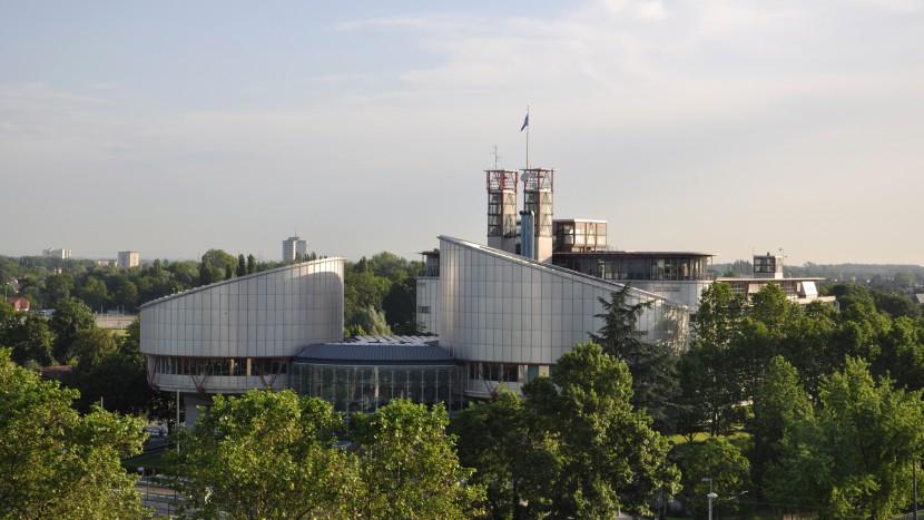 Der Europäische Gerichtshof für Menschenrechte in Strassburg.