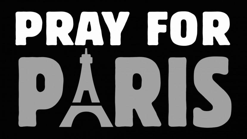 Betet für Paris: Eines der vielen Bilder, die momentan im Internet zirkulieren.