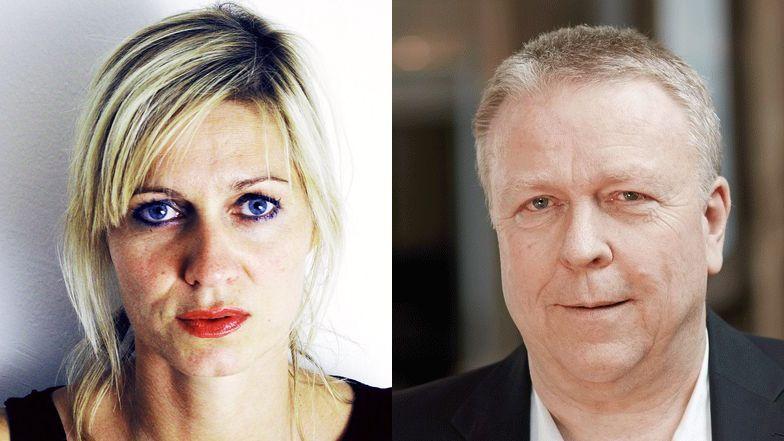 Barbara Weber und Martin Heller.