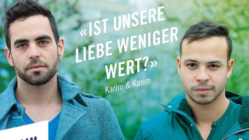 Ein Bild aus der Nein-Kampagne zur Familieninitiative.