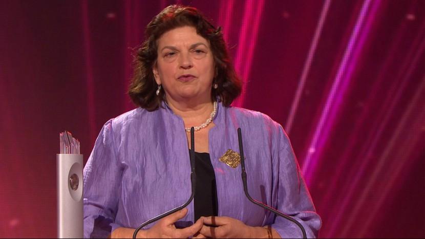 Christine Bär-Zehnder an der Verleihung des «Swiss Awards».