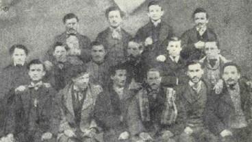 Der israelitische Gesangsverein Endingen in einer Aufnahme von 1856. Vor der Volksabstimmung von 1866 war es den Juden in der Schweiz nur in zwei Dörfern im Kanton Aargau gestattet, sich niederzulassen.