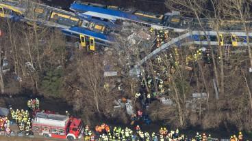 Neun Menschen starben beim Zugunglück in Bad Aibling.