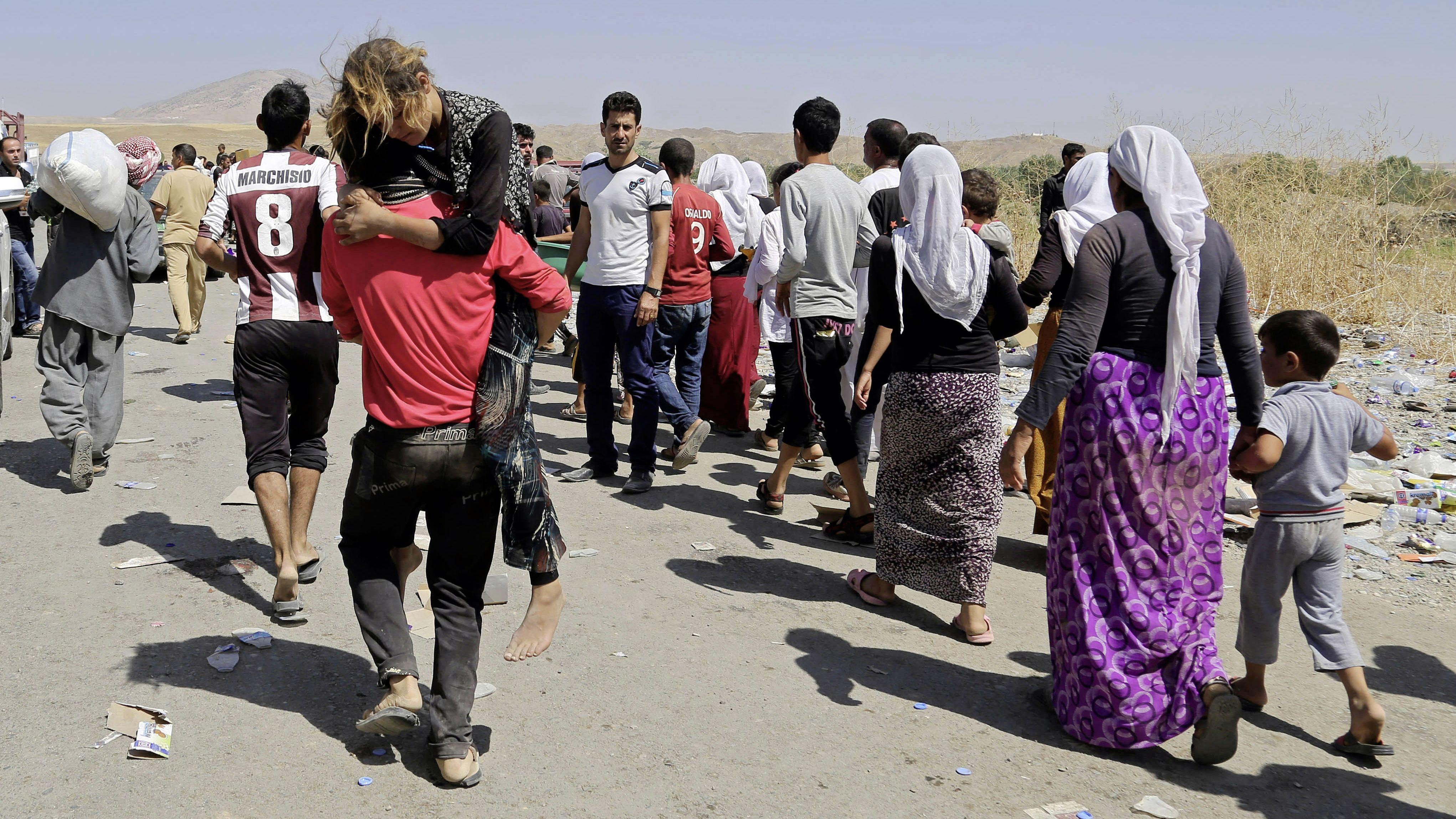 Flüchtlinge Bevorzugt