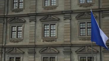 Zürcher Rathaus: Hinter diesen Fenstern tagte die Synode.
