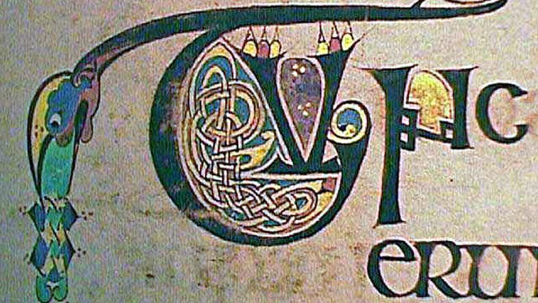 Weltkulturerbe Bibel: Eine Initiale des «Book of Kells», um 800 entstanden.