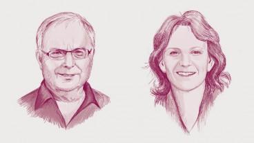 Reinhard Rolla und Ruth Baumann-Hölzle.