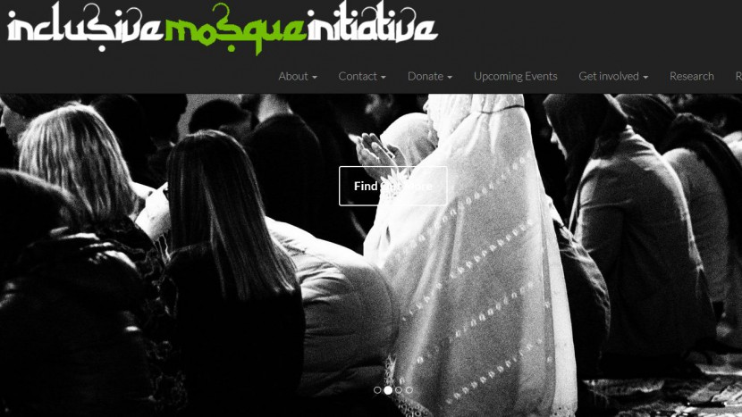 Website der Londoner «Inclusive Mosque»-Initiative.