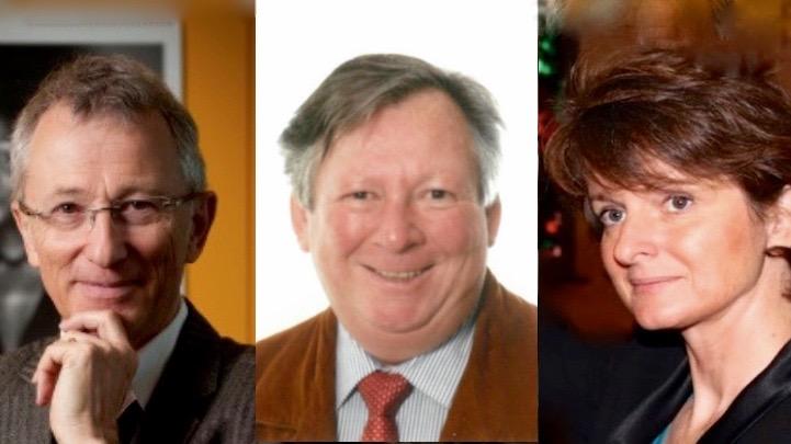 Neu im Vorstand der Reformierten Medien: Peter Rothenbühler, Walter Briner und Cornelia Camichel Bromeis.
