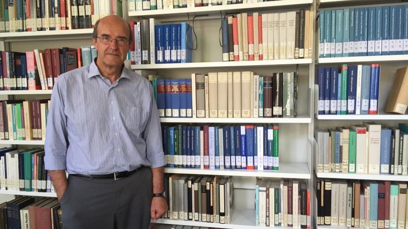 «Auch der Staat muss abwägen»: Pierre Bühler im theologischen Seminar der Universität Zürich.