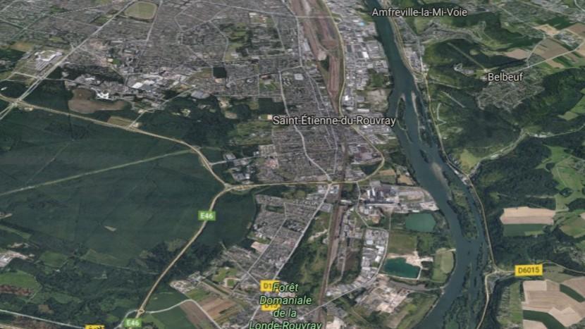 Saint-Etienne-du-Rouvray bei Rouen.