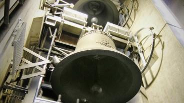 Reduziert und akzeptiert: Die Glocken der reformierten Kirche im bernischen Liebefeld werden heute weitgehend als angenehm empfunden.