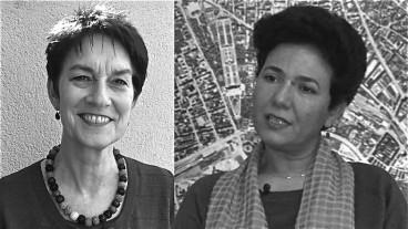 Die Theologin Doris Strahm und Saïda Keller-Messahli, Präsidentin des Forums für einen fortschrittlichen Islam sind sich uneins über die Burka.