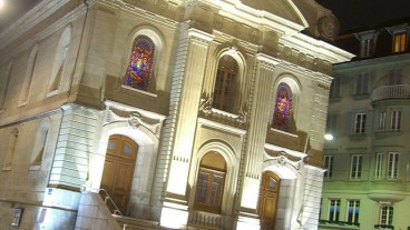 Die Kirche St-Laurent in Lausanne: Hier war 2015 ein Kirchenasyl.