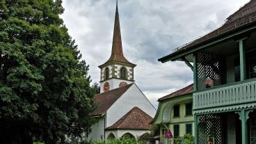Die reformierte Kirche Worb.