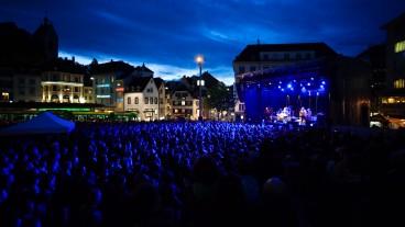 Über 15'000 Besucherinnen und Besucher zählten die Veranstalter 2013 an der ersten «Nacht des Glaubens» in Basel.