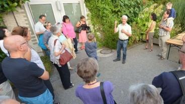 Der Leiter des botanischen Gartens St. Gallen, Hanspeter Schumacher, erläuterte die Kommunikationsfähigkeit der Pflanzen.
