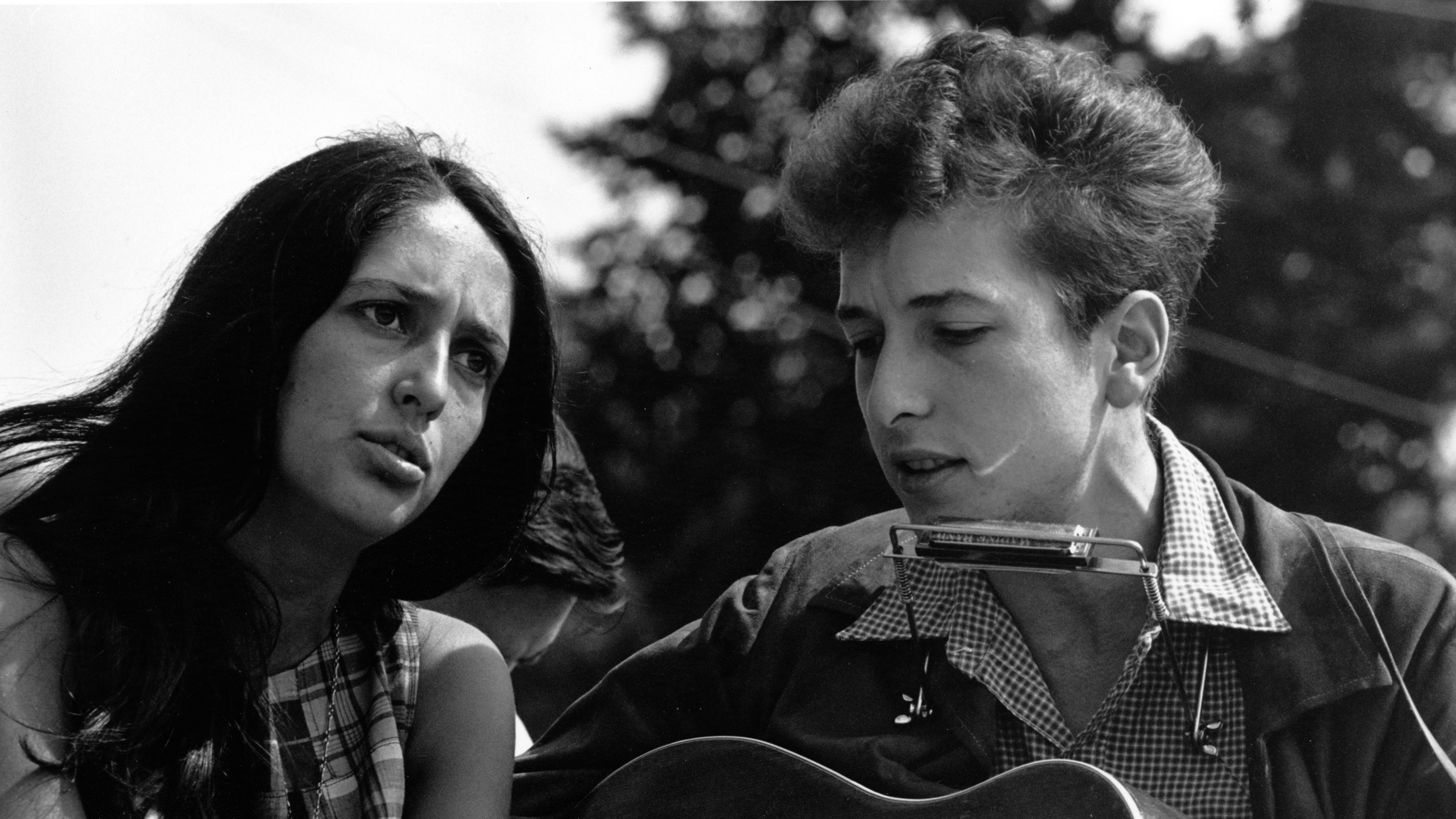 «I Have a Dream»: Joan Baez und Bob Dylan an der Abschlusskundgebung des «Civil Rights March on Washington» (28. August 1963).