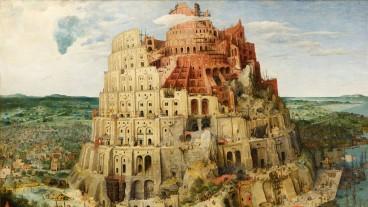 Mittels Erzählungen wie beispielsweise dem Turmbau zu Babel werde in der Bibel aufgezeigt, wie wir Menschen dran sind, schreibt der Theologe Klaus Bäumlin. Im Bild: Der Turm von Babel von Pieter Bruegel dem Älteren.