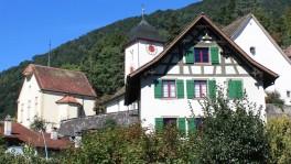 Frühes Zuhause des kleinen Ueli: In der Kaplanei (vorne) lebte er vom fünften bis zum zehnten Lebensjahr.