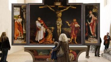Der Isenheimer Altar in Colmar: Das zwischen 1506 und 1515 geschaffene Werk von Matthias Grünewald, spielt eine besondere Rolle in Stefan Haupts Film «Finsteres Glück».