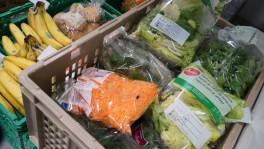 Die Ware ist noch einwandfrei: Dank der neuen «Food Bridge» findet sie Abnehmer.