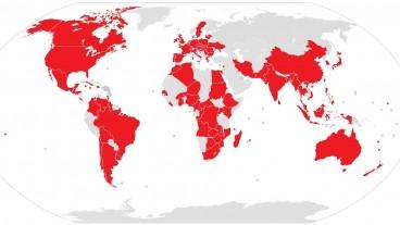 Die Weltgemeinschaft Reformierter Kirchen repräsentiert 80 Millionen reformierte Christen. In den rot markierten Ländern befinden sich eine oder mehrere Mitgliedskirchen.