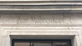 Das «Haus zum Mohrenkopf»: Hier war der Sitz der Seidenhandelsfirma der Orelli.