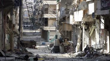 Grosse Teile von Aleppo sind fast komplett zerstört.