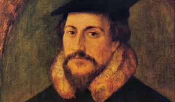 Der Reformator Johannes Calvin.