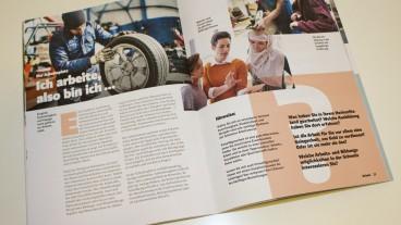 Das Magazin «Grüezi» versteht sich als Integrationshilfe für Migrantinnen und Migranten.