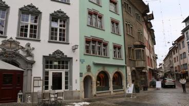 Das Geburtshaus des Schaffhauser Reformators Sebastian Hofmeister.