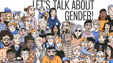 Das als Comic gestaltete Heft «Let's Talk About Gender» regt zum Diskutieren und Nachdenken über Geschlechterklischees und Genderfallen im Alltag an.