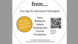 Die App «from...» bietet Gedankenanstösse und spirituelle Impulse für jeden Tag.