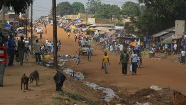 Die südsudanesische Stadt Yei ist zurzeit nur noch auf dem Luftweg sicher erreichbar.