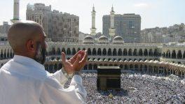 Pilger in Mekka.