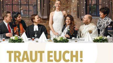 Die Kampagne «Traut euch!! Traut uns!» bringt homosexuelle Paare und Religionsvertreter an einen Tisch.