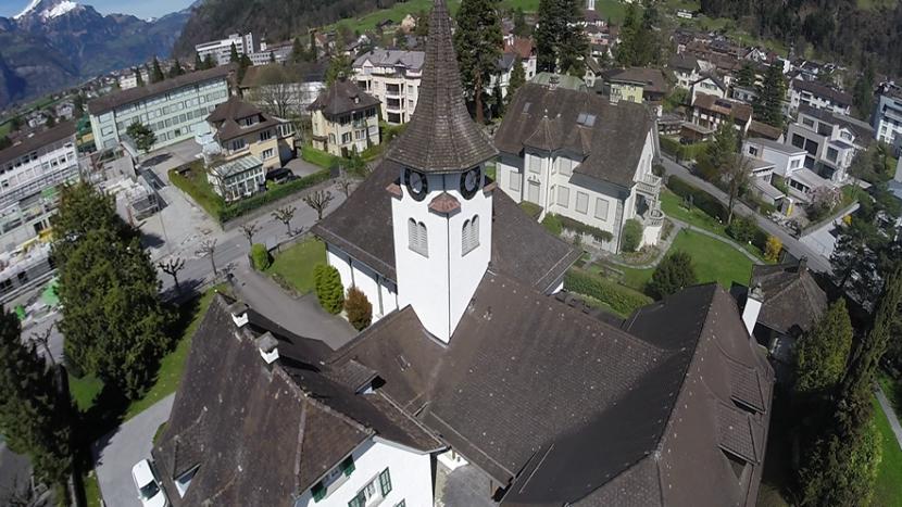 Die Evangelisch-Reformierte Landeskirche Uri ist etwa so gross wie eine mittlere Kirchgemeinde in traditionell reformierten Kantonen. Bild: Reformierte Kirche Altdorf.