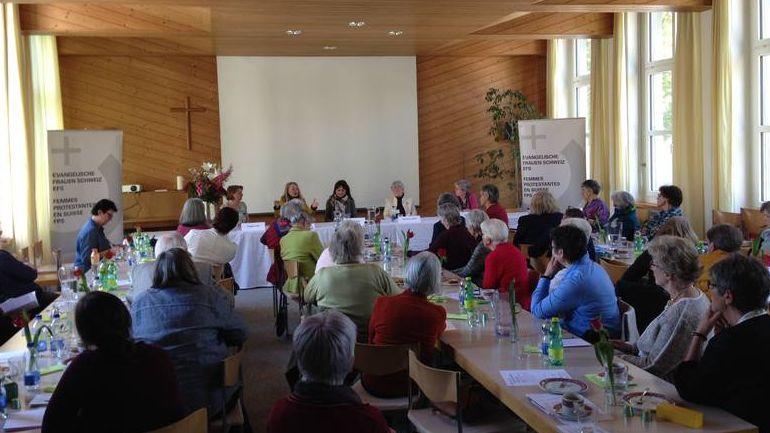 Delegiertenversammlung der Evangelischen Frauen Schweiz in Glarus.