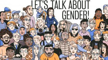 Ausschnitt aus dem im März publizierten Comic «Let's talk about gender».