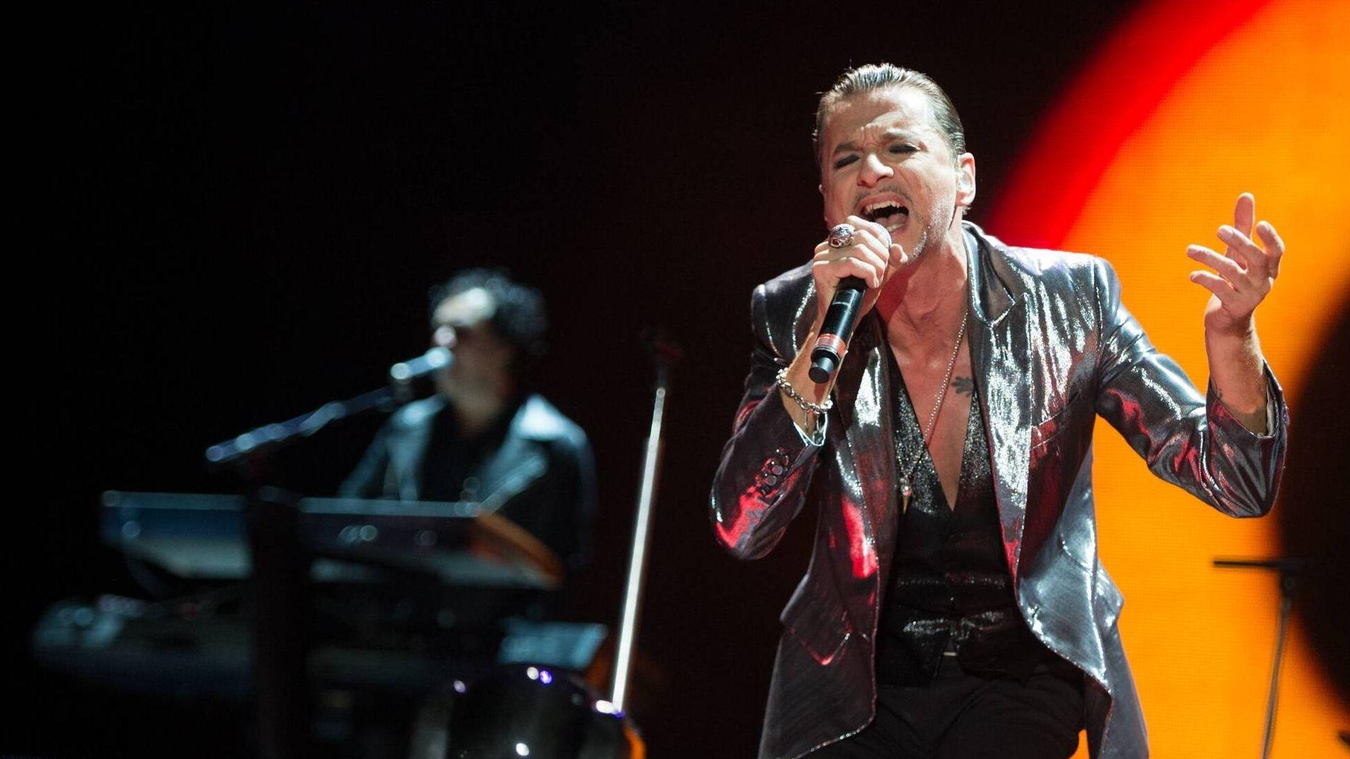 Hat auch unter Pfarrern Fans: Dave Gahan, Sänger von Depeche Mode.