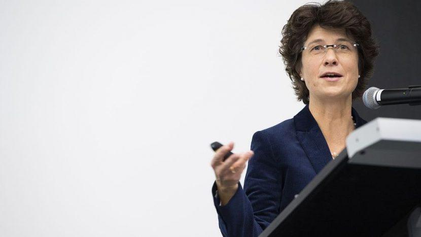 Ursula Zybach an der Swiss Public Health Conference im Jahr 2016.